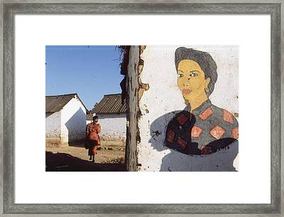 Zaire 1997 Framed Print by Rolf Ashby