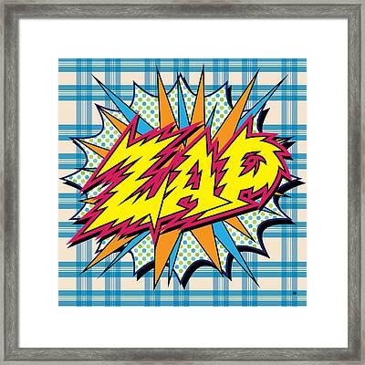 Zap Framed Print by Gary Grayson