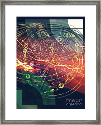 Zap Framed Print by Jose Benavides