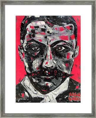 Zapata Framed Print by Arturo Garcia
