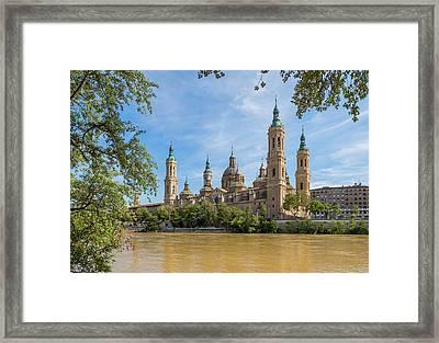 Zaragoza, Zaragoza Province, Aragon Framed Print