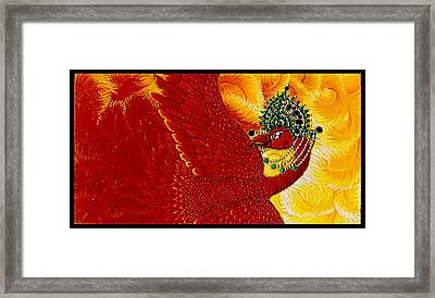 Zarya Framed Print by N Larson
