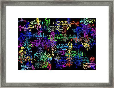 Zblerps Framed Print