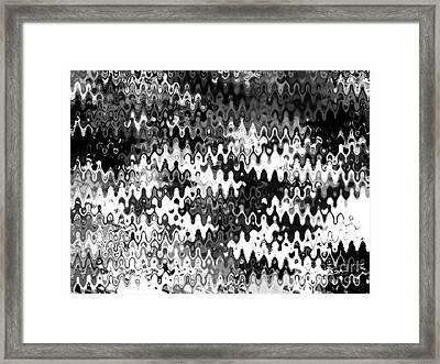 Zebras Framed Print by Anita Lewis