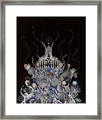 Zebratiki Framed Print