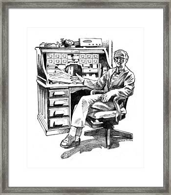 Zedic Framed Print by Dale Michels