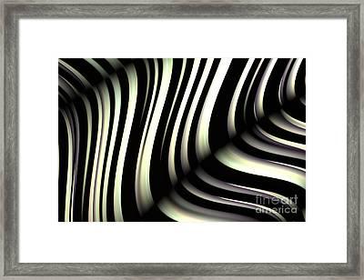 Zeebraa Framed Print