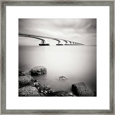 Zeelandbridge II Framed Print by Nina Papiorek