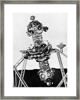 Zeiss Planetarium Projector Mark II Framed Print