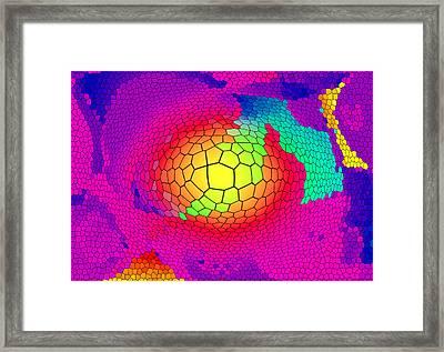 Teamgeist Framed Print