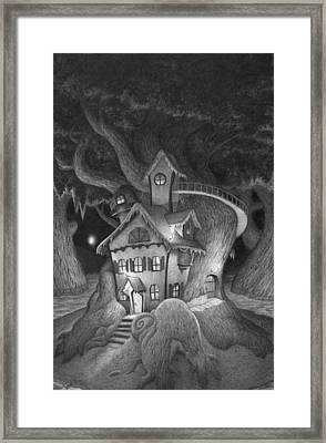 Zelma's House Framed Print