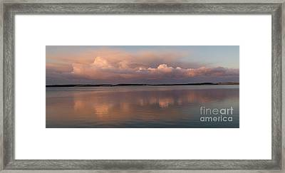 ZEN Framed Print by Alice Cahill