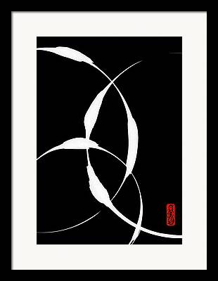 Inversion Paintings Framed Prints