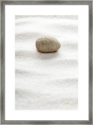 Zen Concept Framed Print by Shawn Hempel