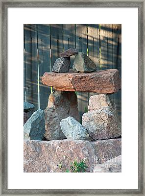 Framed Print featuring the photograph Zen Do by Minnie Lippiatt