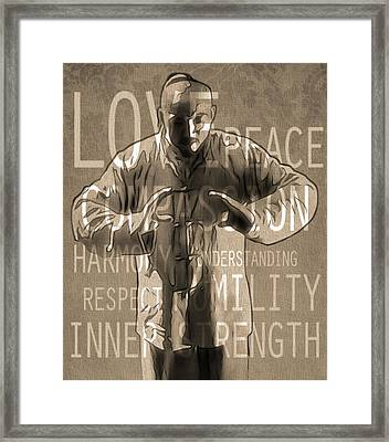 Zen Harmony Framed Print by Dan Sproul