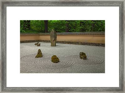 Framed Print featuring the photograph Zen by Jacqui Boonstra