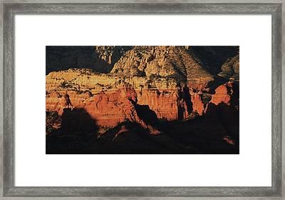 Zen Moment In Sedona Framed Print by Todd Sherlock