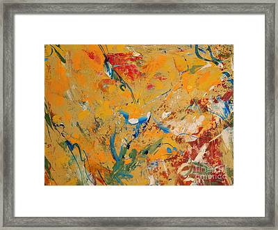 Zen  Framed Print by Nancy Kane Chapman