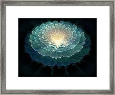Zen Framed Print by Rhonda Barrett