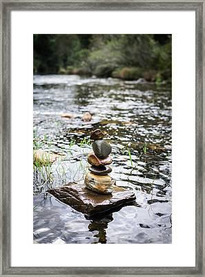 Zen River IIi Framed Print by Marco Oliveira