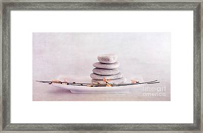 Zen Still Life Framed Print by Priska Wettstein
