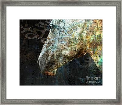 Zeniah Variation 8 Framed Print by Judy Wood