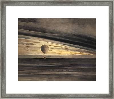 Zenith At Sunrise Framed Print by Bill Cannon