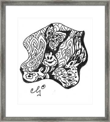 Zenoodle Dos Framed Print by Cris Johnson