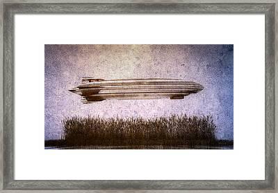 Zeppelin  Framed Print by Bob Orsillo