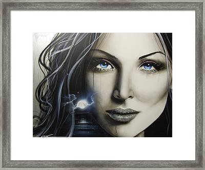 Portrait - ' Zerellic Dreams ' Framed Print