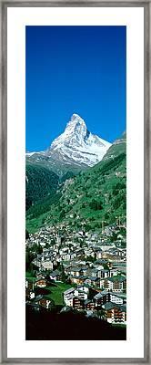 Zermatt, Switzerland Framed Print