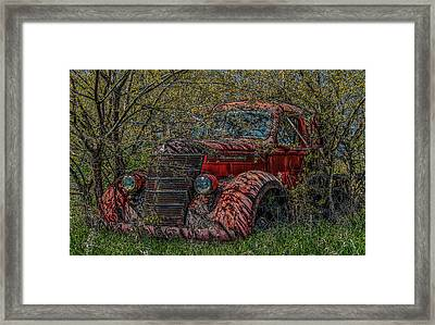 Zero Emissions  Framed Print by Ray Congrove