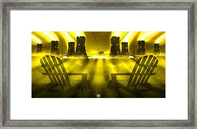 Zero Hour In Yellow Framed Print by Mike McGlothlen