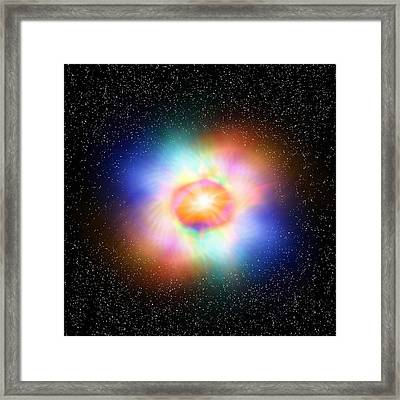 Zero-point Energy, Artwork Framed Print by Science Photo Library