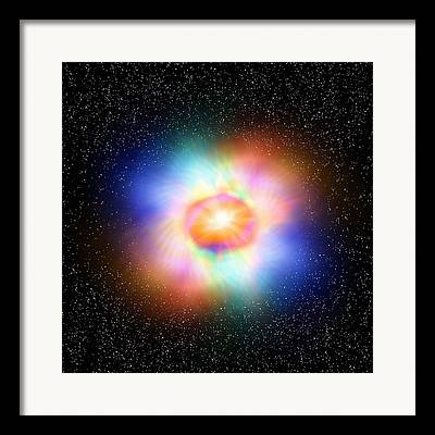 Virtual Particle Framed Prints