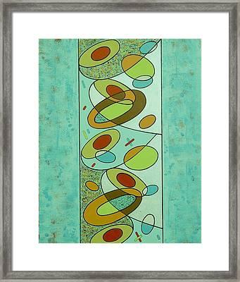 Zero Point Matrix Galaxy Two Framed Print by Debra Jacobson