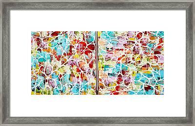 Sold .....ziemlich Blutenblatter Framed Print