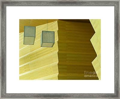 Framed Print featuring the photograph Zig-zag by Ann Horn