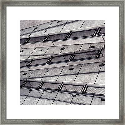 Zig Zag Framed Print by Art Block Collections