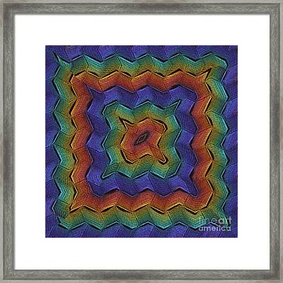 Zigzag Multi Framed Print