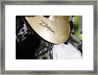 Zildjian Hi-hat Framed Print