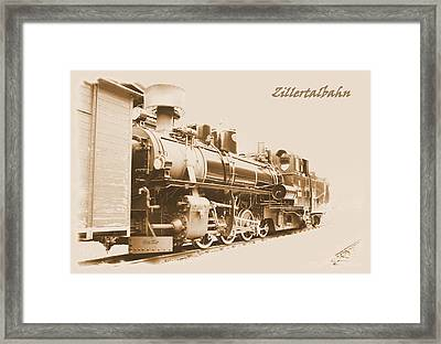 Zillertal Railway Framed Print by Ha Ko