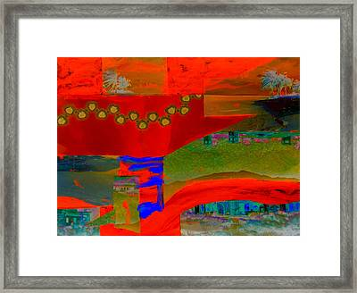 Zine Seen Three Framed Print