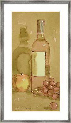 Zinfandel Two Framed Print