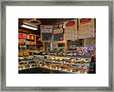 Zingermans Deli 5045 Framed Print