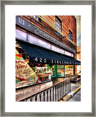 Zingerman's Delicatessen Framed Print