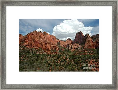 512p Zion Area Framed Print by NightVisions