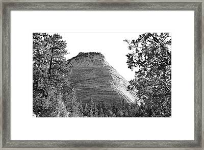 Zion Checkerboard Framed Print by Viktor Savchenko