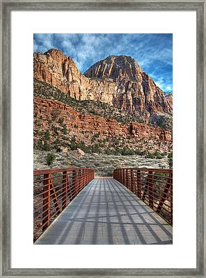Zion Connection Framed Print